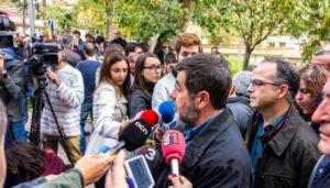 Jordi Sànchez amb Jordi Turull