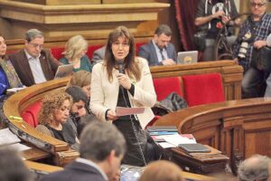Laura Borràs se ha convertido en la musa del independentismo puigd