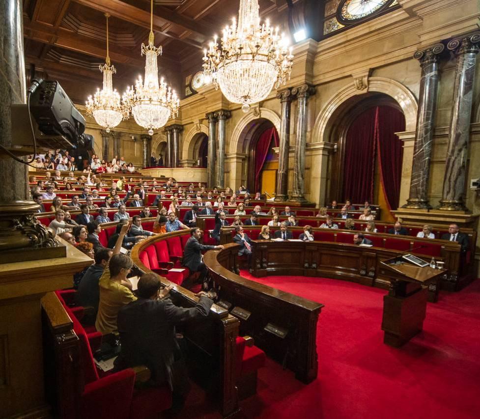 Votació de la moció al Parlament
