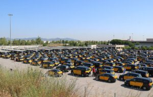 Vaga taxistes