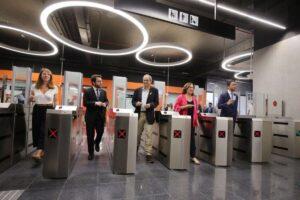 Inauguració de la línia 10 Sud del metro de Barcelona