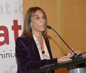 Ester Franquesa, presidenta del CNLC