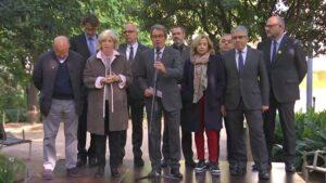 Artur Mas con los ex consejeros