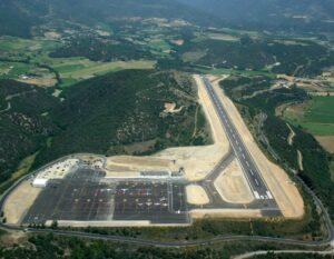L'aeroport de la Seu d'Urgell necessita el GPS per ser operatiu.
