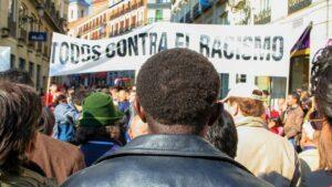 Manifestació contra el racisme