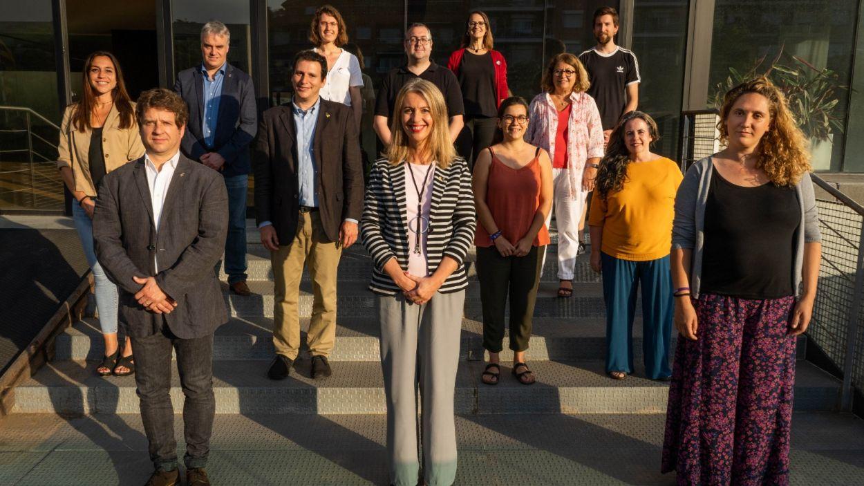 Equipo de gobierno del ayuntamiento de Sant Cugat del Vallès, que se pers