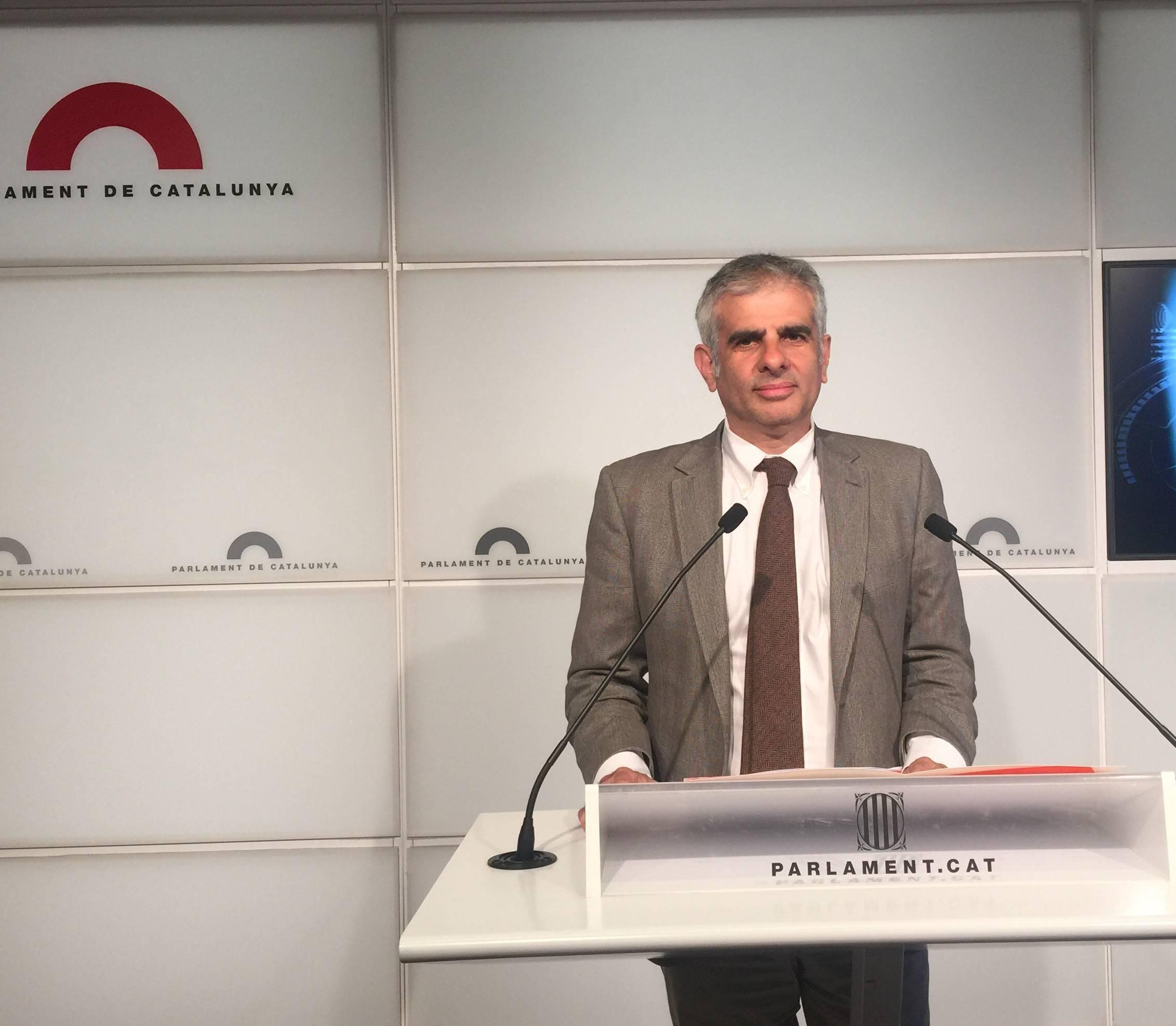 Carlos Carrizosa, de C's, al Parlament