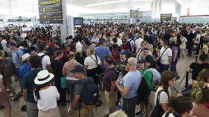 Vaga a l'aeroport del Prat