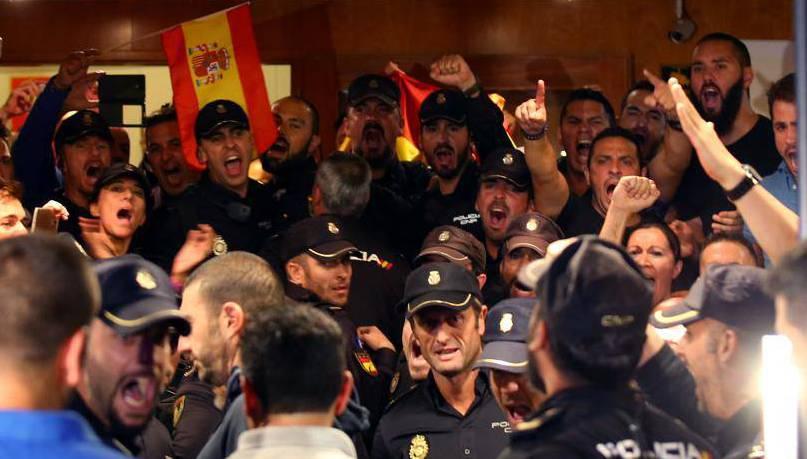 Policia Nacional hotel Pineda de Mar
