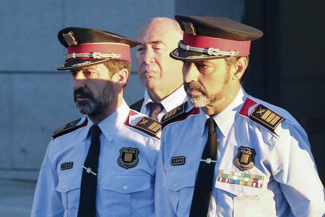 Ferran López, amb Trapero a l'Audiència