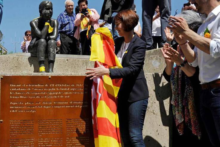 Plaça 1 d'octubre de Girona
