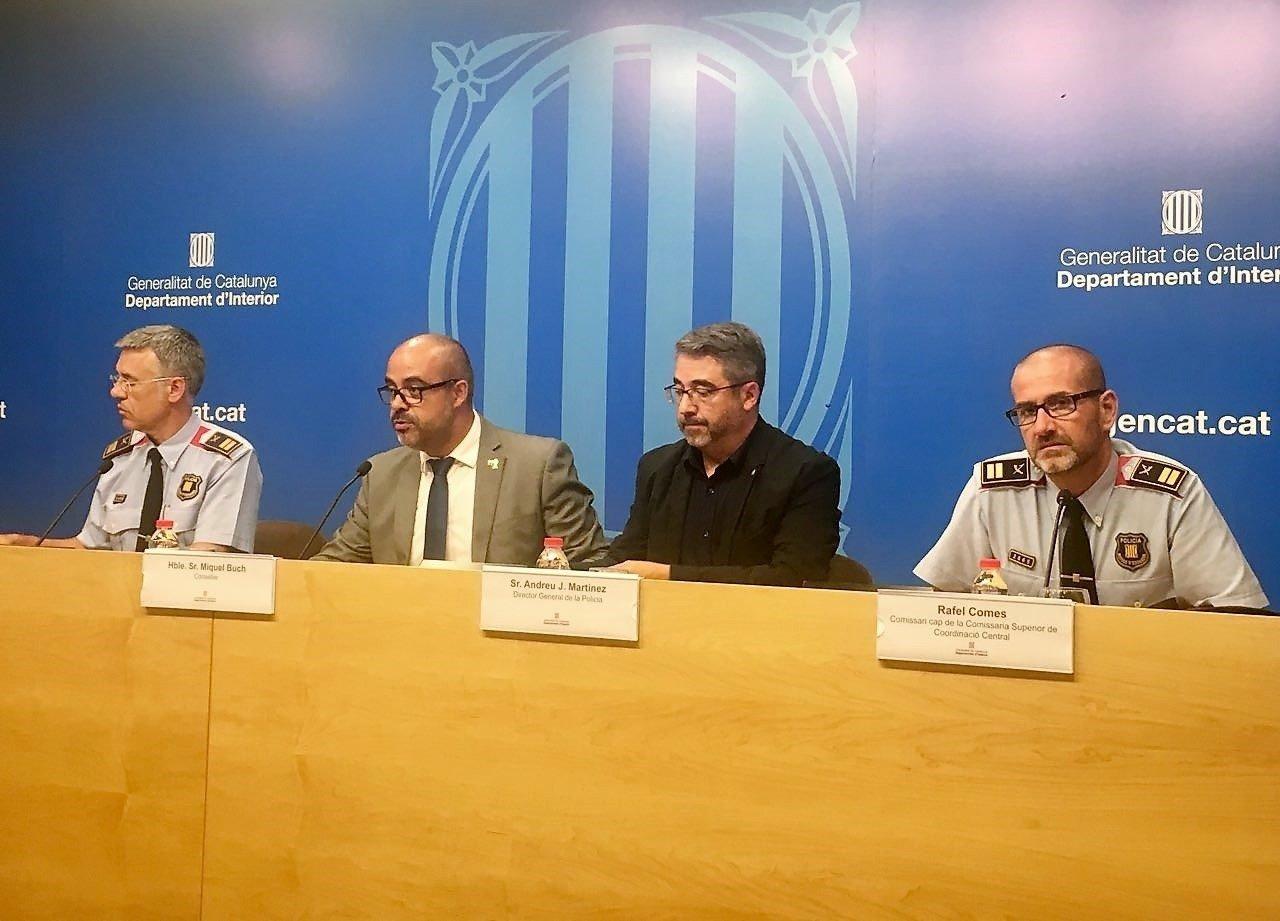 Miquel Esquius, Miquel Buch i Andreu Joan Martínez