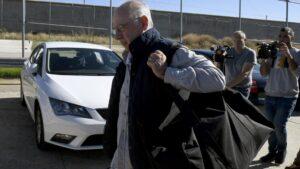 Rodrigo Rato, entrant a presó