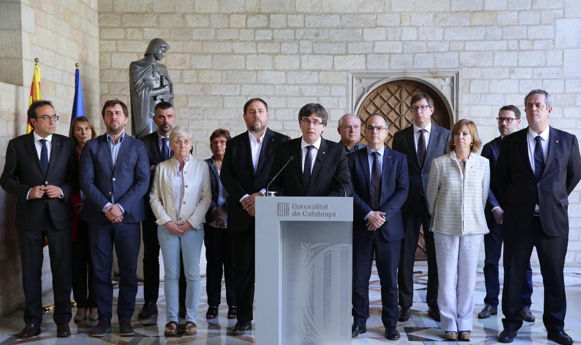 El govern de Carles Puigdemont
