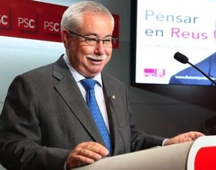 L'exalcalde de Reus, Lluís Miquel Pérez (PSC)