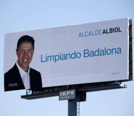 Albiol 'Netejant Badalona'