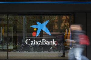 Panel de oficina de CaixaBank