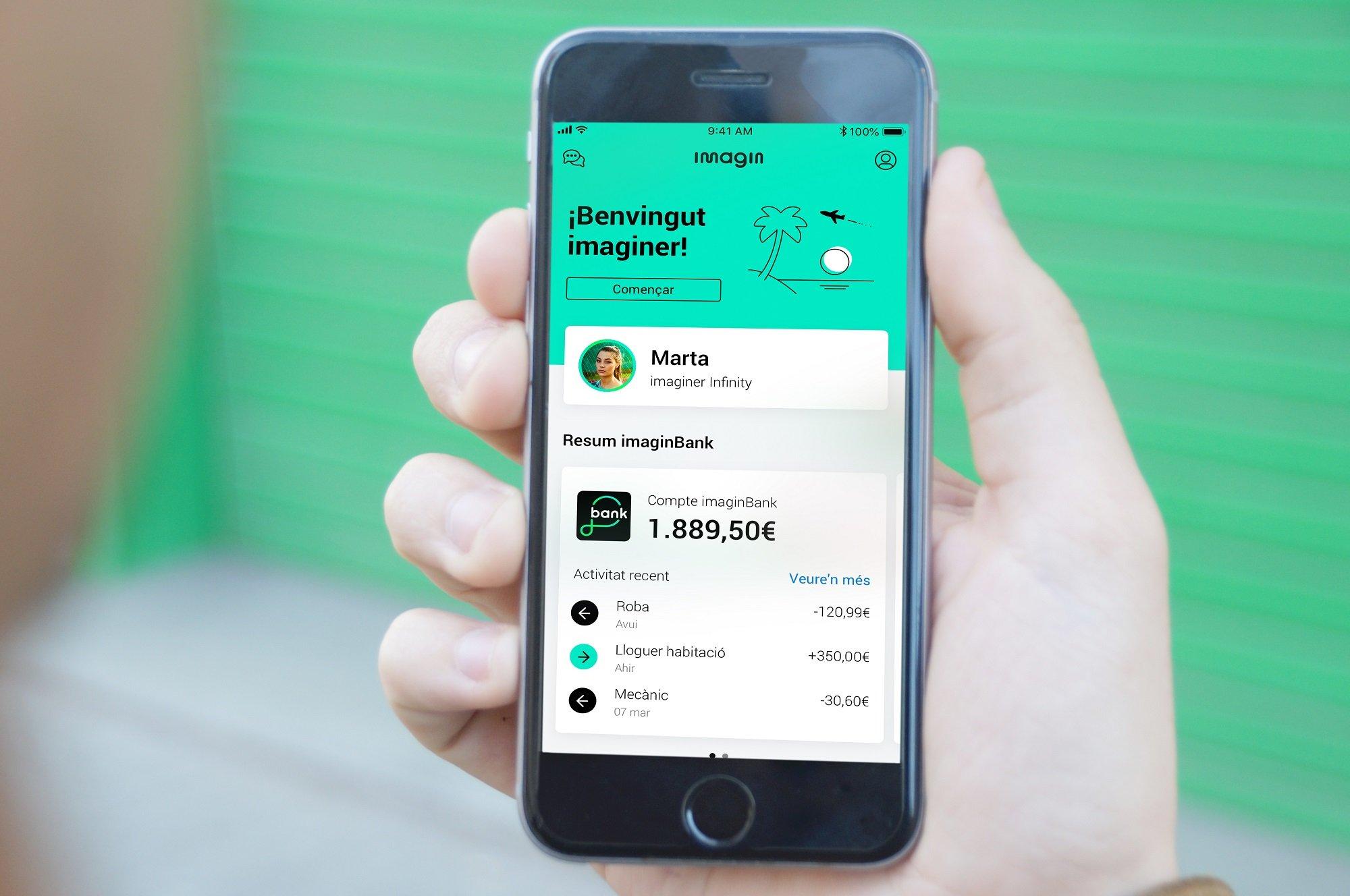 CaixaBank convierte imagin en una plataforma de servicios digitales y estilo de vida para 2,6 millones de jóvenes