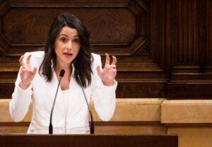 Inés Arrimadas discurs investidura Quim Torra