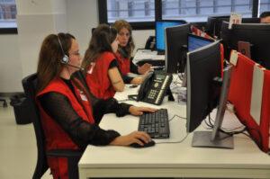 Servei d'atenció telefònic de la Creu Roja
