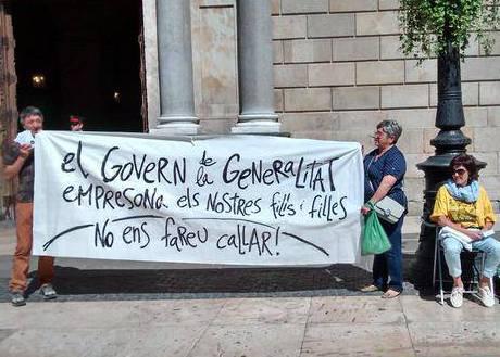 acció encausades Parlament a la Generalitat