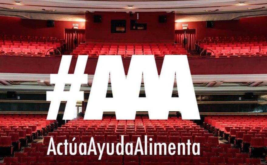 Encapçalament del Manifest #ActúaAyudaAlimenta