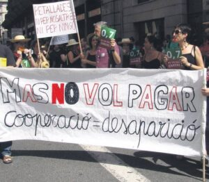 Protesta ACCD