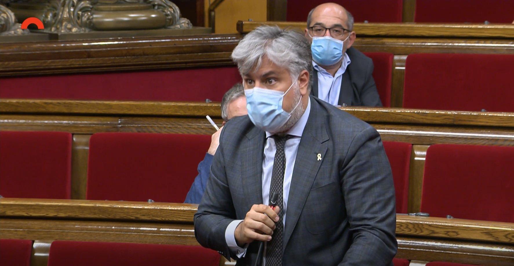 Albert Batet, al Ple del Parlament sobre la monarquia