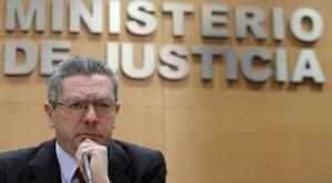 el ministre de Justícia, Alberto Ruiz-Gallardón