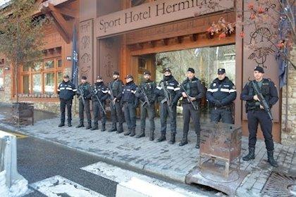 Agentes policiales en Andorra