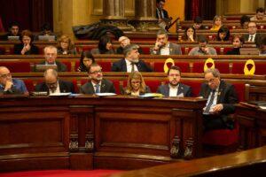 Pere Aragonès, vicepresident econòmic del govern al Parlament