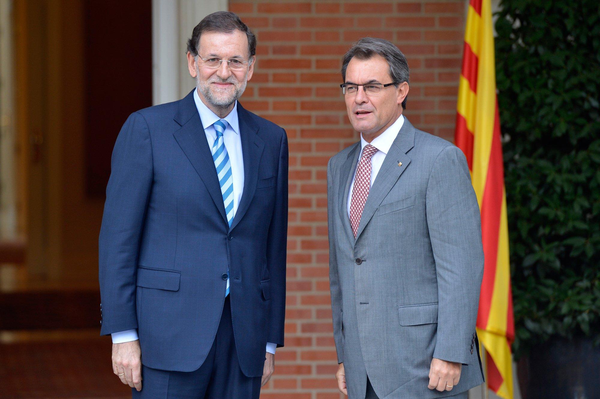 Rajoy i Mas