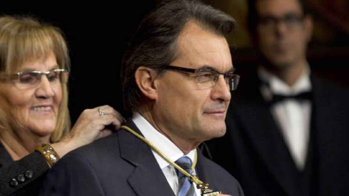 Artur Mas investit president de la Generalitat