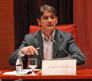 Oriol Pujol a la comissió sobre el frau i la corrupció