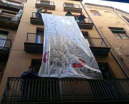 Bloc de la SAREB ocupat per la PAHC Bages a Manresa