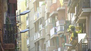 Balcons del barri de Gràcia, a Barcelona