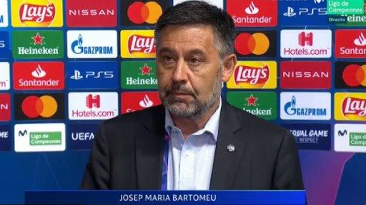 Bartomeu, en declaracions posteriors a la desfeta del Barça contra el