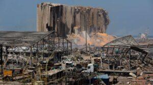 Beirut, després de la forta explosió del passat dimarts 4 d'agost