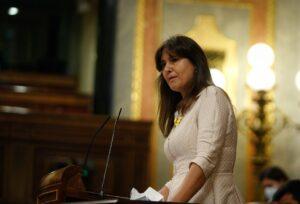 Intervención de Laura Borràs en el Congreso, esta semana