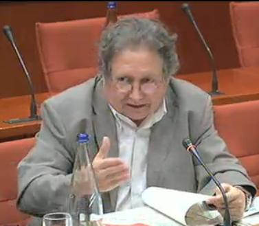 El diputat ecosocialista Jaume Bosch, aquest dimecres al Parlament