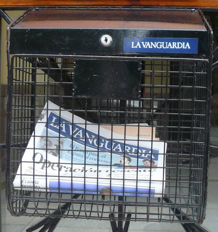 Bustia La Vanguardia