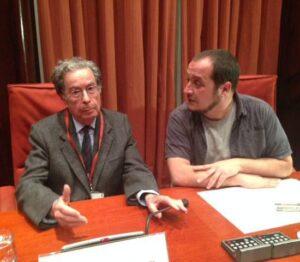 Francesc Cabana al Parlament