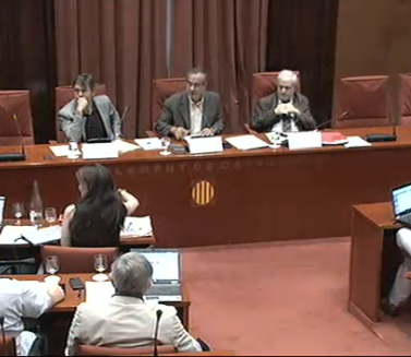 Comissió bales de goma del Parlament