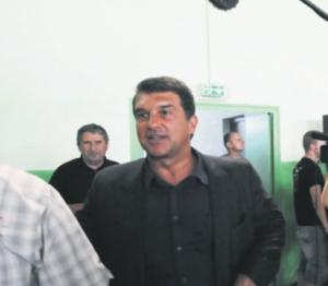 Joan Laporta, expresidente del Barça
