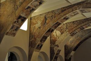 Murales de Sijena en el MNAC