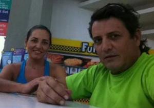 José Luis Fernández -veneçolà d'origen espanyol- i la manxega Yolanda Lara
