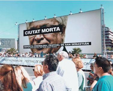 Ciutat Morta al festival de cinema de Sant Sebastià