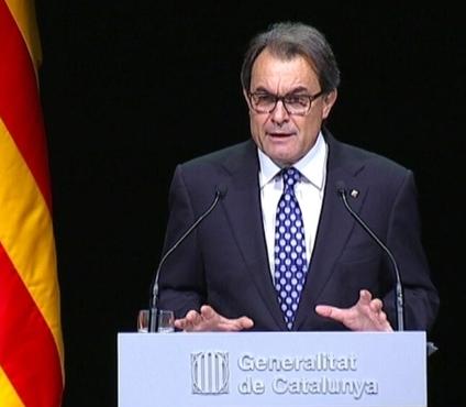 Artur Mas, aquest dimarts a Barcelona
