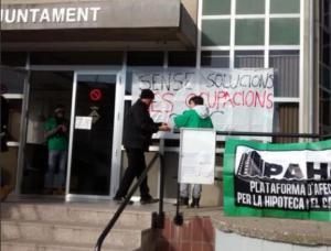 Ocupació de l'Ajuntament de Puig Reig, aquest dilluns