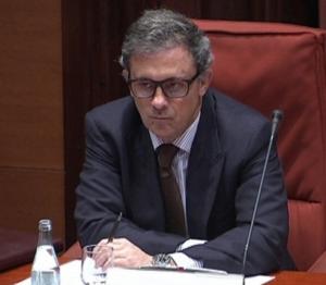 Jordi Pujol Ferrusola al Parlament